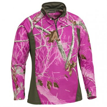 Pinewood Coolmax shirt Ladies in AP Hot Pink
