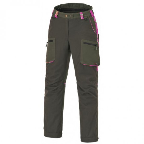 Damen-Hose Wolf in AP Hot Pink - grün Gr. 44
