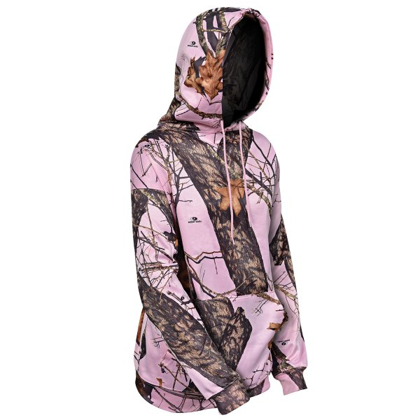 Yukon Pullover Hoodie pink camo